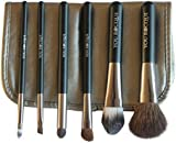 You Rocque Professional Makeup Brush Set With Case - 6 Premium Quality Brushes That Work With All Brands of Cosmetics - Soft on Skin & Don't Shed - Great for Travel - Look Good & Feel Your Best Today!