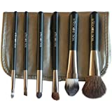 Make Up Brushes by You Rocque - Makeup Brush Set with Bonus case - 6 Professional & Soft Cosmetic Makeup Brushes For Eyes & Face