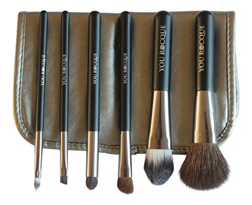 You Rocque Professional Makeup Brush Set With