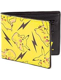 Pokemon Pikachu - Allover Portefeuille jaune/noir