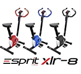 Esprit Fitness XLR-8 Exercise Bike Adjustable Resistance Cardio Workout Indoor Fitness Bike