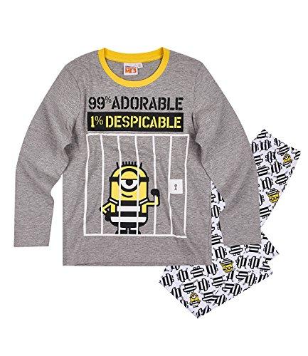 Minions Despicable Me Chicos Pijama – Gris