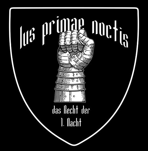 Ius Primae Noctis - JGA Shirt Schwarz