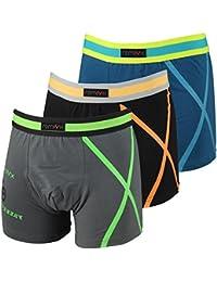 3er Pack Kids Jungen Boys Retro Boxershorts in verschiedenen Farben Modell Bike