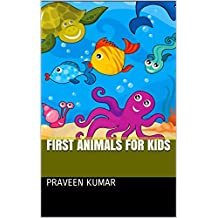 First animals for kids (English Edition)