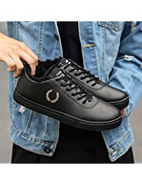 c68a54ba41330 LOVDRAM Zapatos para Hombre Otoño E Invierno Bajo para Ayudar Zapatos De  Moda para Hombres Zapatos