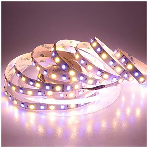 LTRGBW Super Helle 5050 SMD 24V RGBWW LED-Streifen-Beleuchtung 5M 360LEDs 5050 SMD Flexible RGBW Band-Lampe RGB-Warmweiß