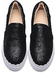 GBT Nœud Papillon Chaussures Heureuses Tête Ronde Avec Chaussures Paresseuses Étudiants Chaussures Simples Chaussures Petites Chaussures Blanches