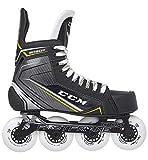 CCM Tacks 9060R Senior Roller Hockey Skates, Weite :D, Größe:8.0