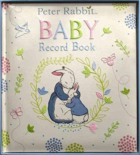 Rainbow Designs Baby-Tagebuch/Babybuch, Design Peter Hase von Beatrix Potter, englischsprachige Aufschrift