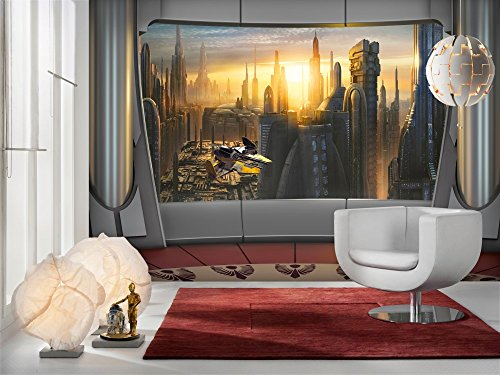 poster gigante - Star Wars - Coruscant View