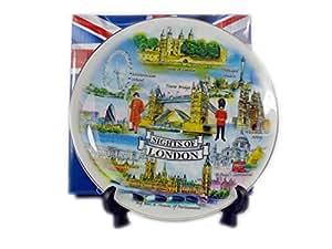 Sampson Assiette souvenir Design vues de Londres