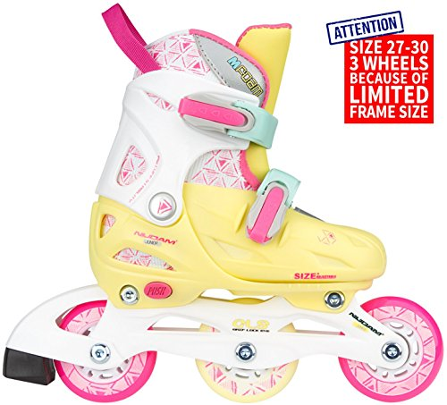 Nijdam 52SP Inliner Junior Inlineskates Kinder Inline Skates verstellbar 27-30 Inlineskating