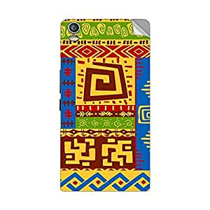 Garmor Designer Mobile Skin Sticker For LAVA Iris Pro20 - Mobile Sticker