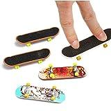 KINGDUO 5Pcs Pack Finger Board Deck Truck Skateboard Boy Child Toy
