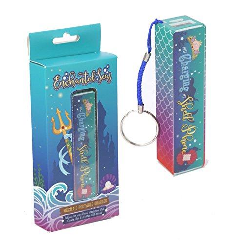 Enchanted Seas Mermaid Portable USB Ladeger?t Power Bank Schl?sselanh?nger