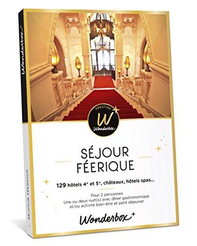 Wonderbox - Coffret cadeau Noel prestige - SÉJOUR FÉERIQUE - 129 séjours en...