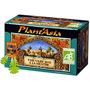 Plantasia - Thé Vert Menthe Max Havelaar Bio