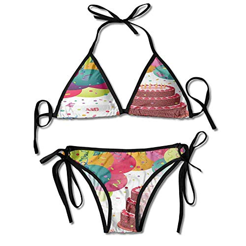 Custom Pattern Strapless Bikini Set High Waisted Snake Print Bathing Suit -