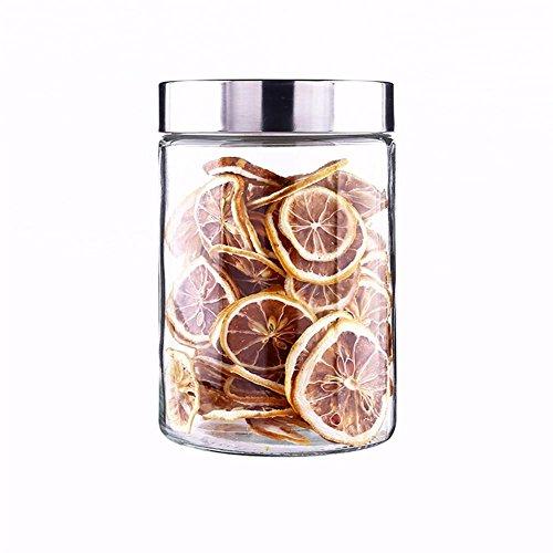 Ahui Lagertank Runde Gewürzdose Gewürze Dosen Gewürzflasche Konserven Lebensmittel Lagerung Flüssigkeit Feststoff Artikel Lagerung , 1200ml