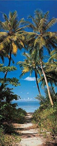 porta-carta-da-parati-beach-path-600v-90-x-200-cm-2-parti-45-cm-x-200-cm-alta-qualita-di-stampa-foto