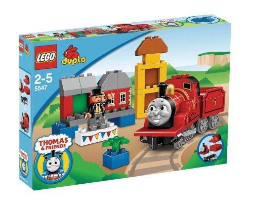 LEGO Duplo Thomas & Friends 5547 - James trifft den dicken Kontrolleur (Lego Thomas)