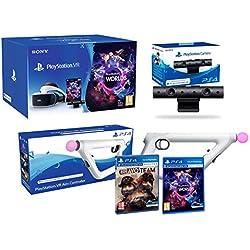 PlayStation VR Bravo Team Pack + AimController + VR Worlds + Camera V2