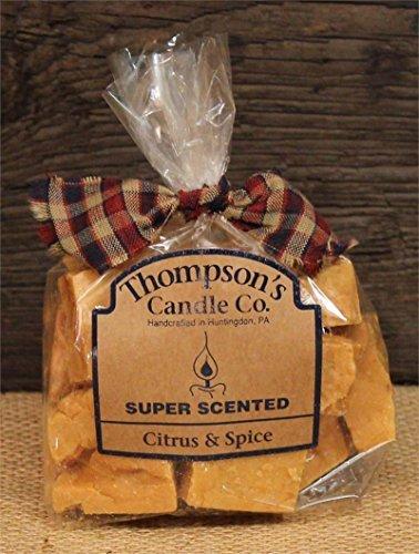 Thompson 's Kerze Co Super Duft Citrus & Spice Crumble (Duftkerze Torten)