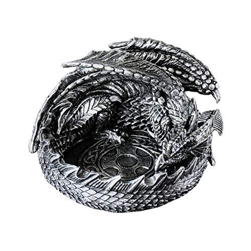 Shopffiy Tagore Drachen-förmigen Aschenbecher kreative Persönlichkeit Trend-Mode Jungen Geburtstag Geschenke