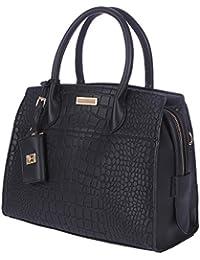 FUR JADEN Women's Handbag( Black,H247_Black)