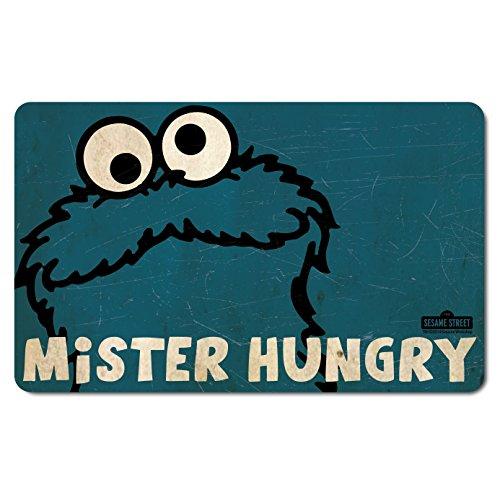 Cookie Monster - Krümelmonster Mister Hungry - Sesamstrasse - Frühstücksbrettchen - Lizenziertes Originaldesign - ()