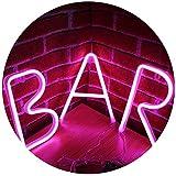 Neon Bar Licht Zeichen LED Neon Brief Nachtlicht Festzelt Wort Zeichen Wanddekor für Bier Bar Pub...