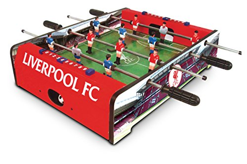 Liverpool FC Football Table - Red, 20 Inch
