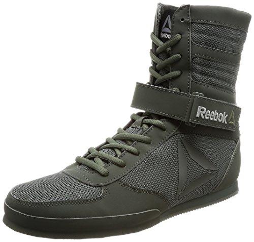 Reebok Boxing Boot-Buck, Zapatillas de Boxeo para Hombre, Gris (Ironst