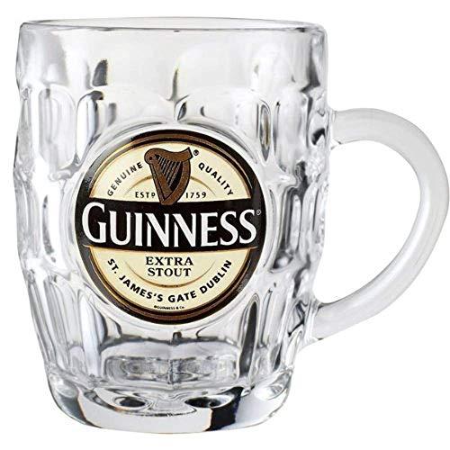 Guinness Label (Guinness Label Bierkrug, Dimple)