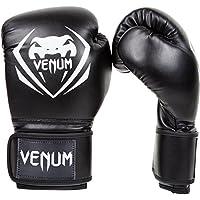 Venum Contender - Guantes de boxeo,  color Negro, talla 12 oz