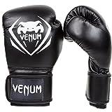 Venum Contender - Guantes de boxeo,  color Negro, talla 16 oz