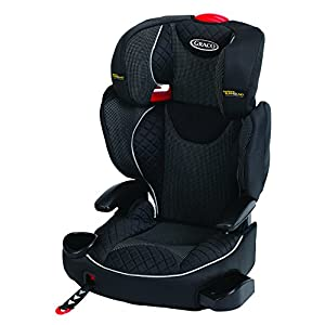 Graco Affix Highback Booster Group 2/3, Stargazer Cybex Sturdy and high-quality child car seat for long-term use - For children aged approx. 9 months to approx. 12 years (9-36 kg), Suitable for cars with and without ISOFIX Maximum safety - Depth-adjustable impact shield, 3-way adjustable reclining headrest, Built-in side impact protection (L.S.P. System), Energy-absorbing shell 12-way height-adjustable comfort headrest, One-hand adjustable reclining position, Easy conversion to Solution M-Fix car seat for children from 3 years (group 2/3) by removing impact shield and base 9