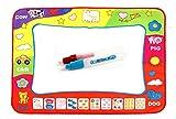 Happy Cherry Niños Niñas Dibujo Agua Alfombra de Pintar Mágico Tablero + Boli Garabato Juguete Infantil Magic Doodle Mat