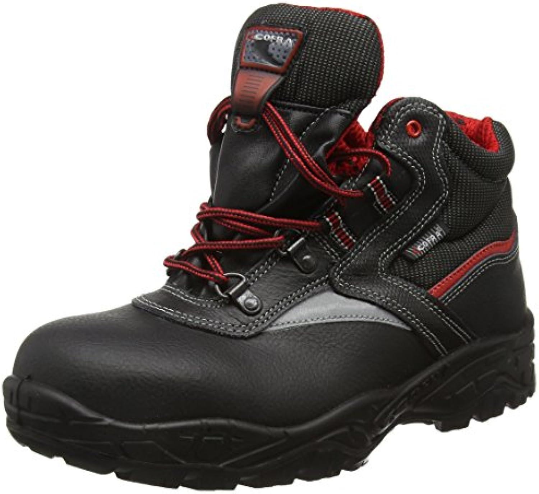 Cofra 22250 – 000.w39 taglia 39 scarpe di sicurezza S3 SRC Cutter – Nero | Uscita  | Scolaro/Signora Scarpa