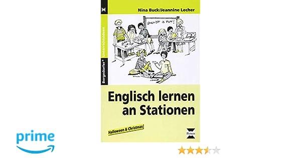 Englisch lernen an Stationen: Halloween and Christmas 3. und 4 ...