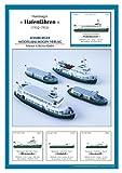 HMV 3324 Papermodel Hamburg Harbor Ferries (1952-1955)