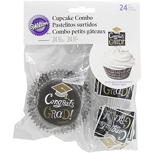 Cup Combo Pack (Cupcake Combo Pack 24/Pkg-Graduation)
