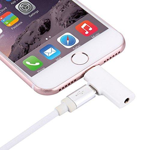 Blitz auf 3,5 mm Aux-Micro-USB-Kabel Headset-Konverter, Fone-Stuff ® - iphone / ipad Kopfhörer-Buchse Konverter