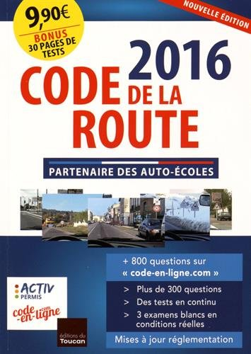 code de la route 2016 par Collectif