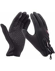 【Black Friday Promotion】Upspirit Gants imperméables coupe-vent mixtes à effet thermique pour sports d'extérieur Coloris au choix