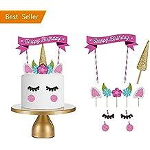 Decorazioni Unicorno Rosa Per La Festa Di Compleanno Torta Di Toppers Per La Festa A Tema Unicorno Della Neonata