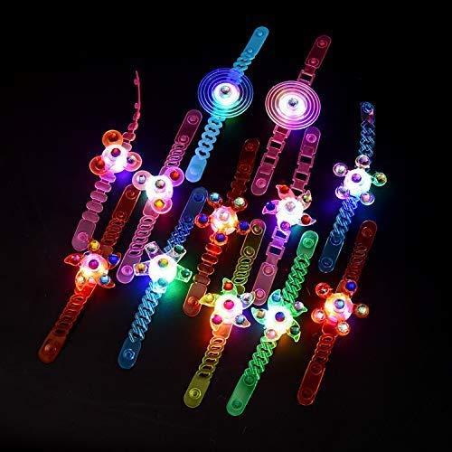 erkauf  , 12er Pack Light Up Toys im Dunkeln leuchten Birthday Party Favors für Kinder Box Spielzeug ()
