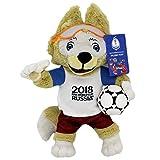 FIFA 2018 Russia - Mascotte officiale Zabivaka en peluche 35 cm