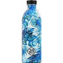 24 BOTTLES - URBAN BOTTLE 1L - floral azure
